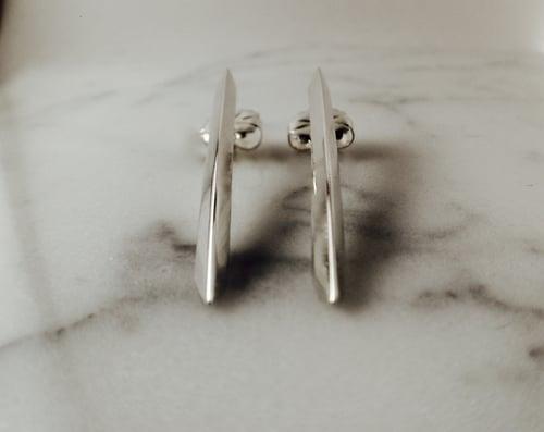 Image of Shank Earring Set