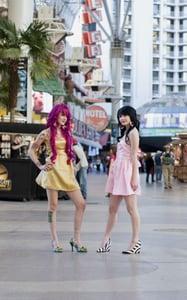 Image of Bubble Gum Princess dress- GOLD