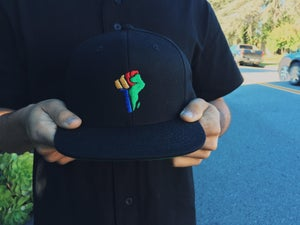 Image of 'Africa Fist' Snapback - Pre Order