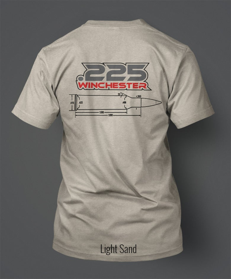 Image of .225 Winchester T-Shirt