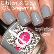 Image of Glisten & Glow OG Snowman - Young Wild and Polished Collaboration
