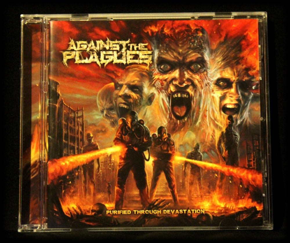 Image of AGAINST THE PLAGUES - PURIFIED THROUGH DEVASTATION (limited edition import CD)