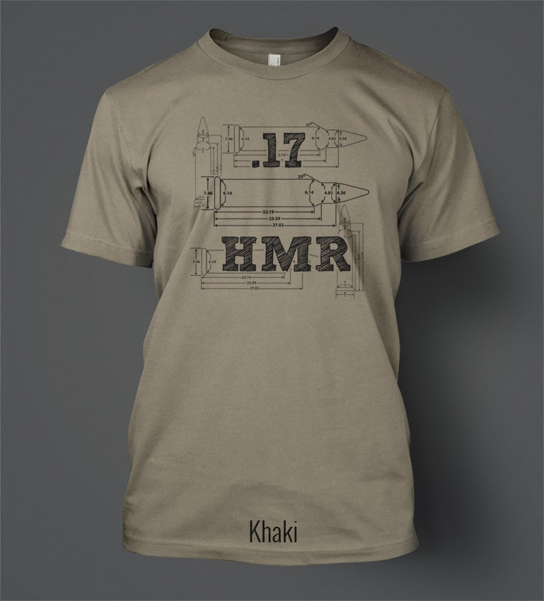 Image of 17HMR T-Shirt - Front Print
