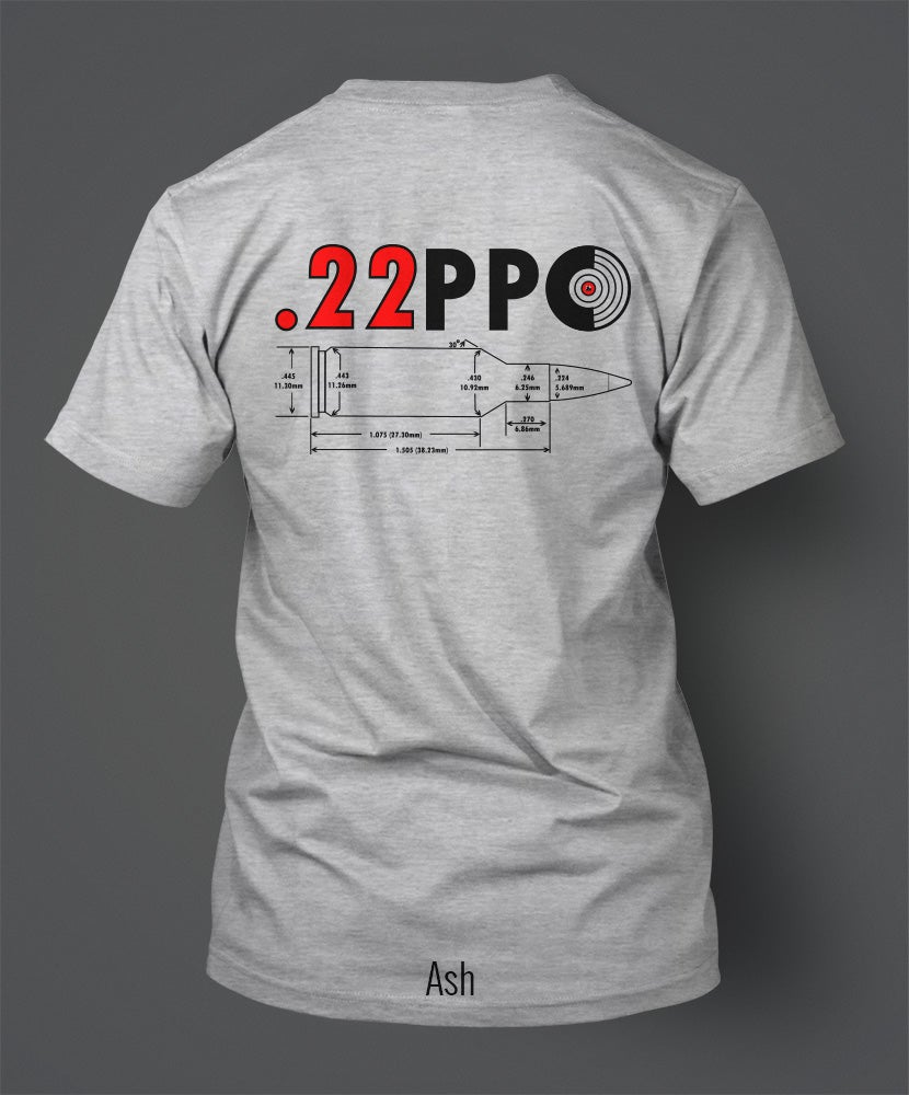 Image of .22 PPC T-Shirt