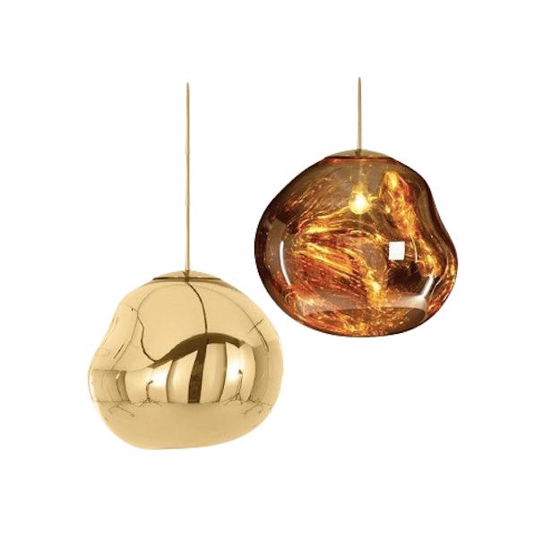 Image of Tom Dixon Mini Melt Pendant Light Gold