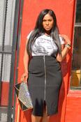 Image of Veronica Plus Skirt