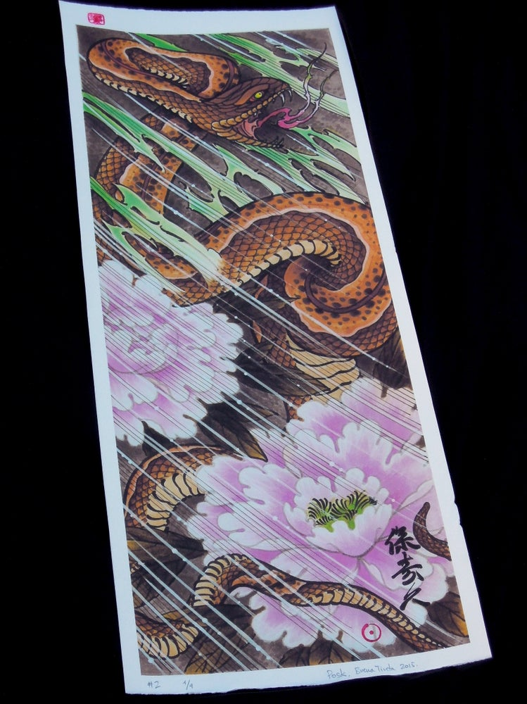 Image of SNAKE ON THE STORM
