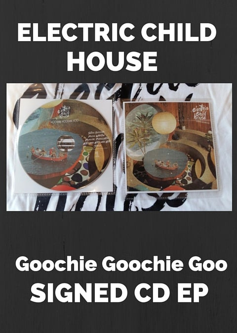 Image of ELECTRIC CHILD HOUSE GGG 5 TRACK EP - PHYSICAL SIGNED CD