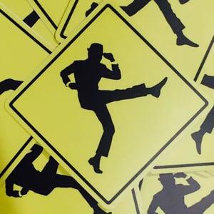 "Image of Dick Van Dyke ""Keep Moving"" Sticker"