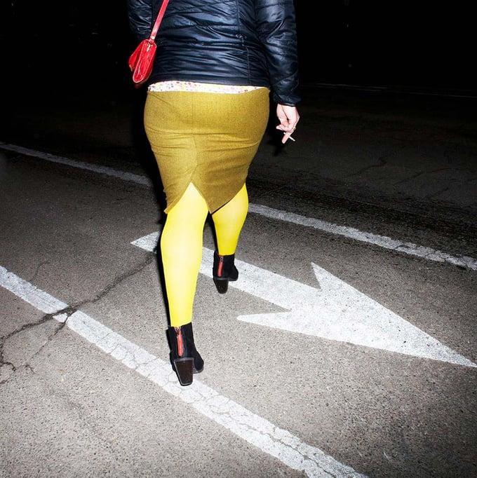 """Image of Sidewalk Spacewalk   18x18""""   Limited Edition of 100"""