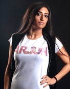 Image of ARJUN White Ladies T-Shirt
