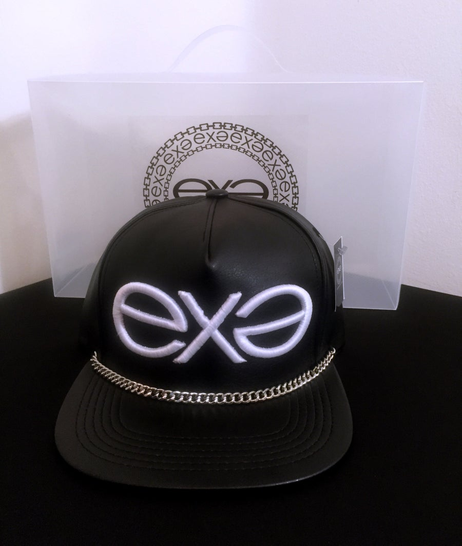 Image of EXPRESSION 06 EVOLUTION - Headwear - Black with Silver Chain