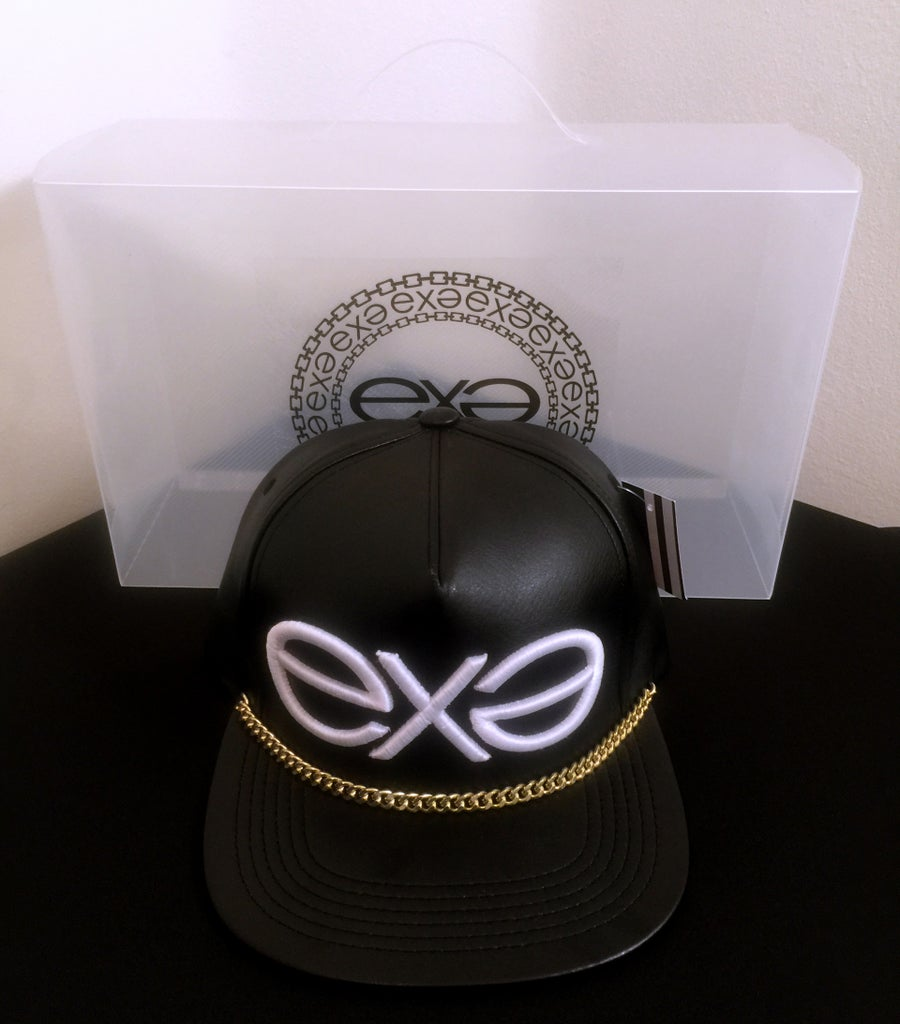Image of EXPRESSION 06 EVOLUTION - Headwear - Black with Gold Chain