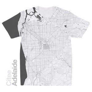 Image of Adelaide map t-shirt