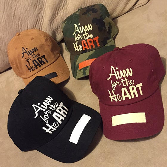 Image of AimForTheHeART Cap