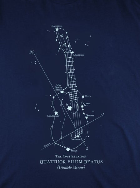 Image of Ukulele Constellation T-Shirt