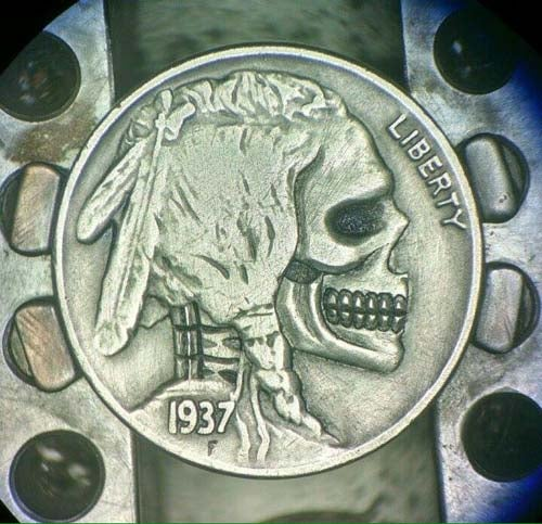 Image of Indian Head Bufaflo Nickel Skull