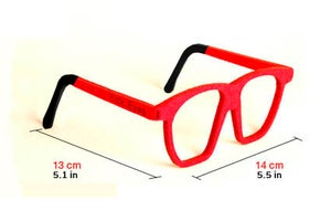 Image of Kick Eyes Party Glasses-Squared