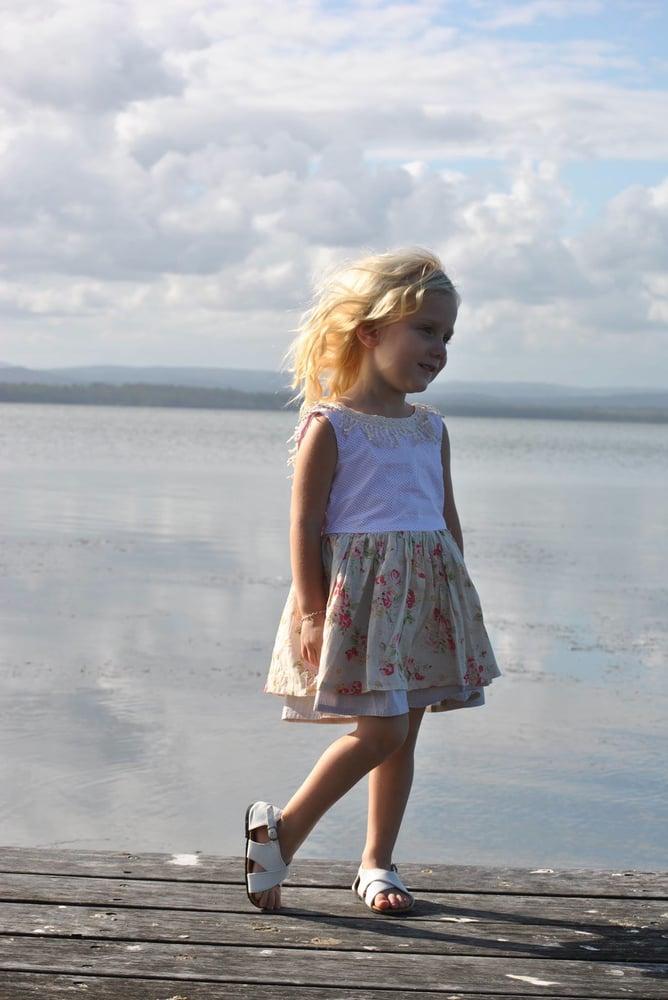 Image of Lola Sandal - white