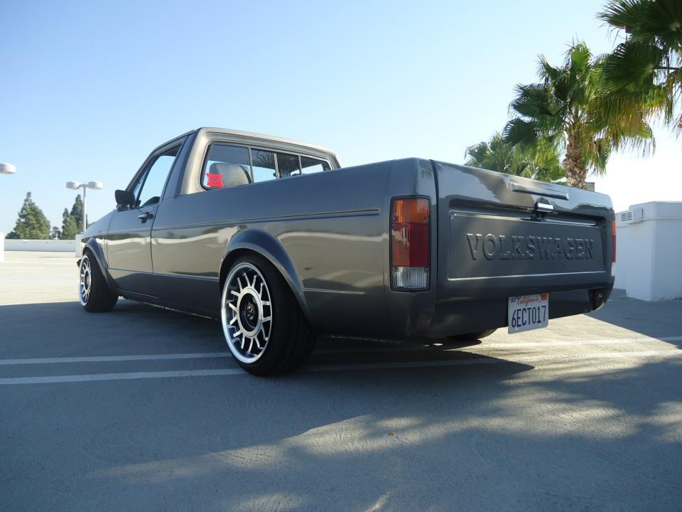 "Image of MK1 Volkswagen 3"" rear drop plates"