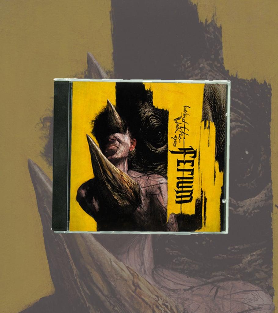 """Image of """"Behind The Black Eyes"""" CD"""
