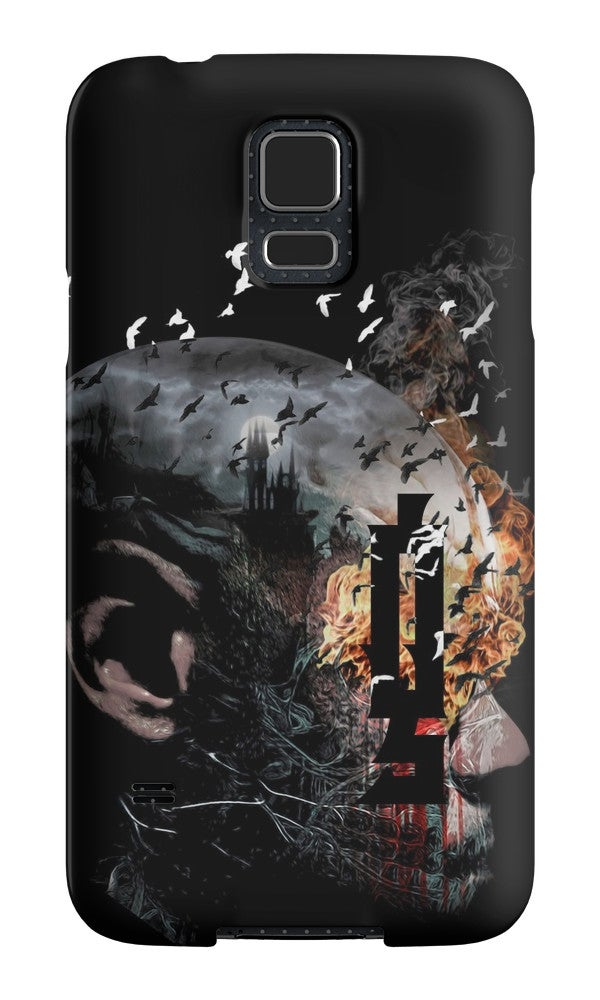 "Image of ""Tower of Transition"" Samsung Galaxy Tough Case"