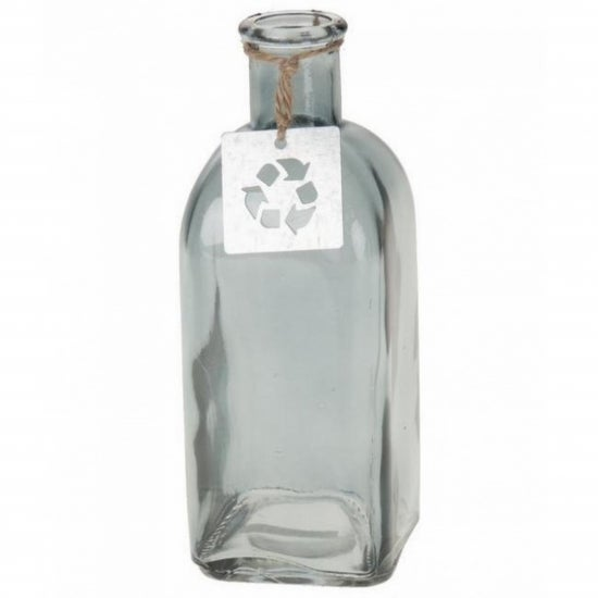 Image of Light Grey Glass Bottle