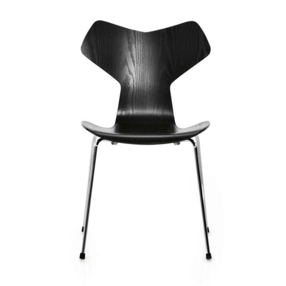 Image of Fritz Hansen Grand Prix Chair Black