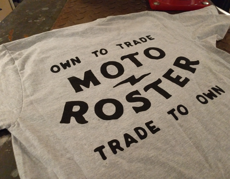 Image of Moto Roster T-Shirt