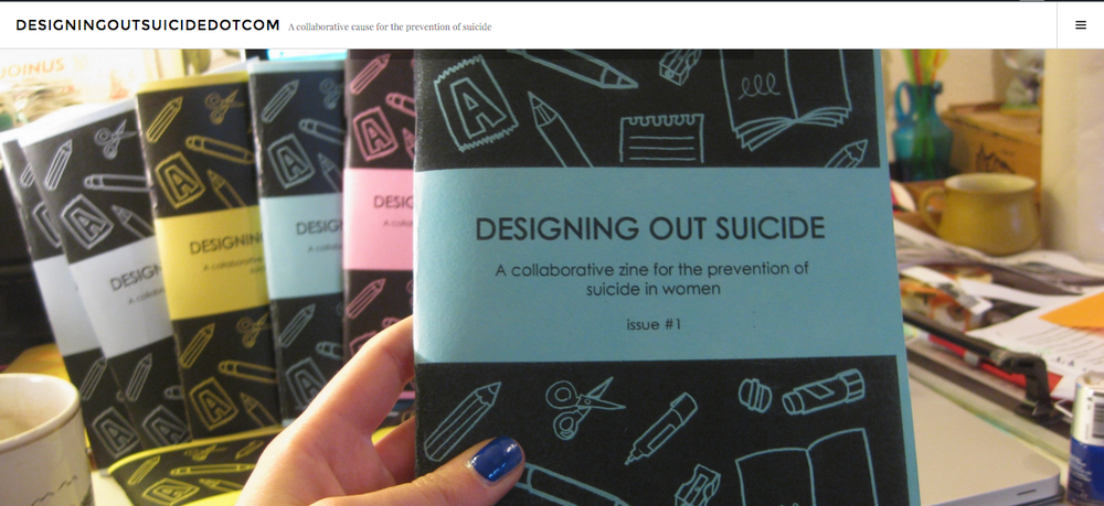 Image of DESIGNING OUT SUICIDE #1