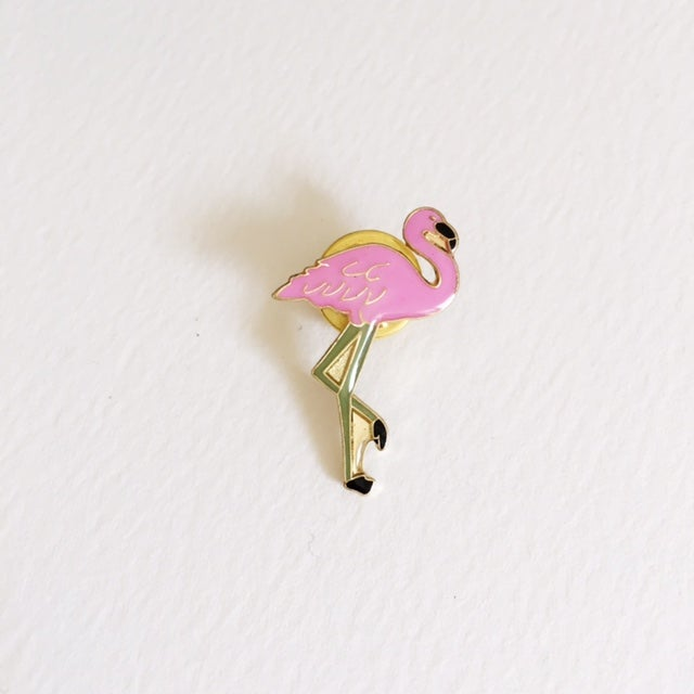 Image of Flamingo pin