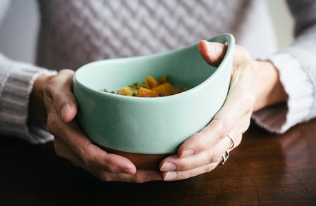 Image of Handled Soup Bowl