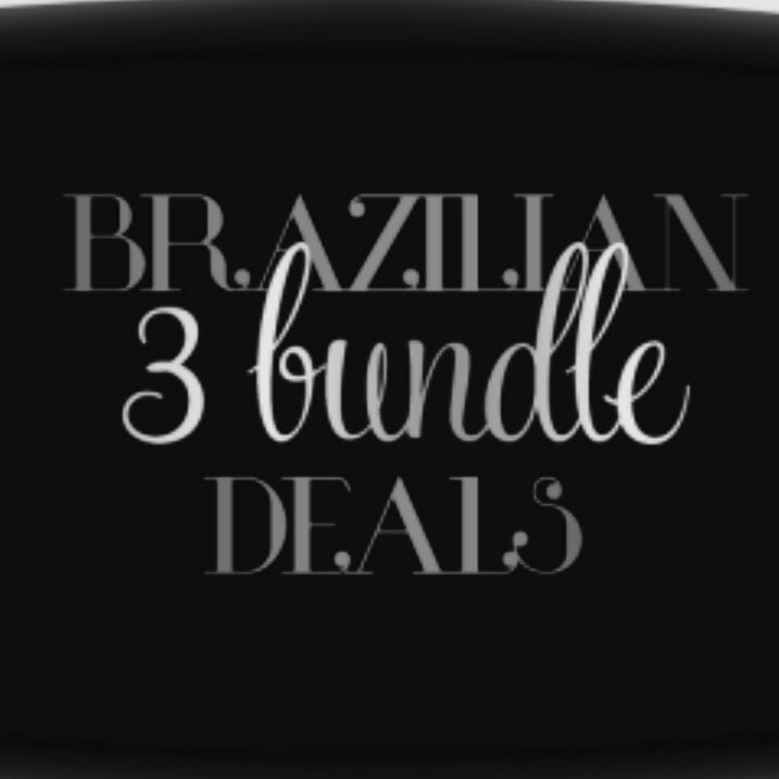 Image of Brazilian Hair 3 Bundle Deals