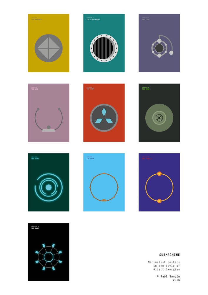 Image of Submachine - Minimalist Posters
