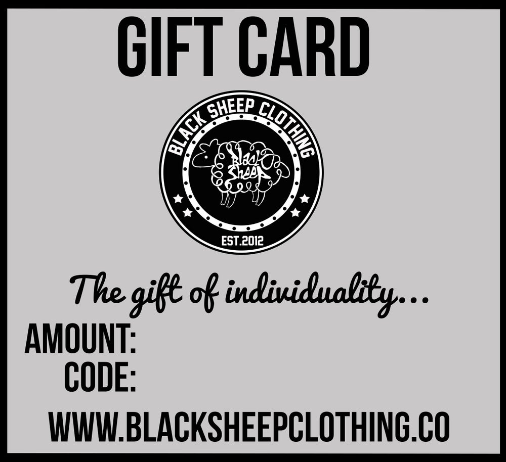 Image of GIFT CARDS