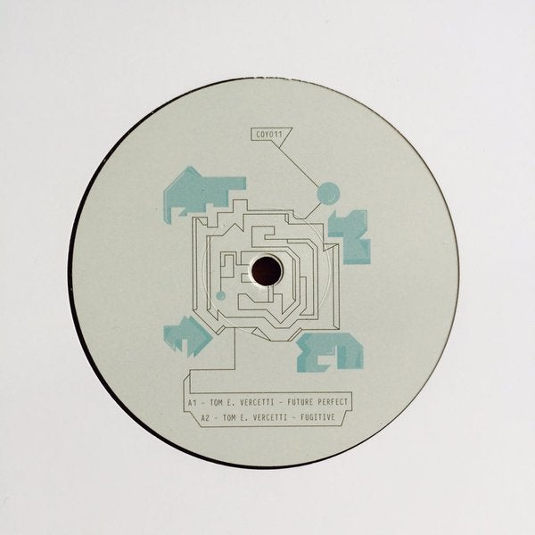Image of COY011 | Tom E. Vercetti - Future Perfect EP