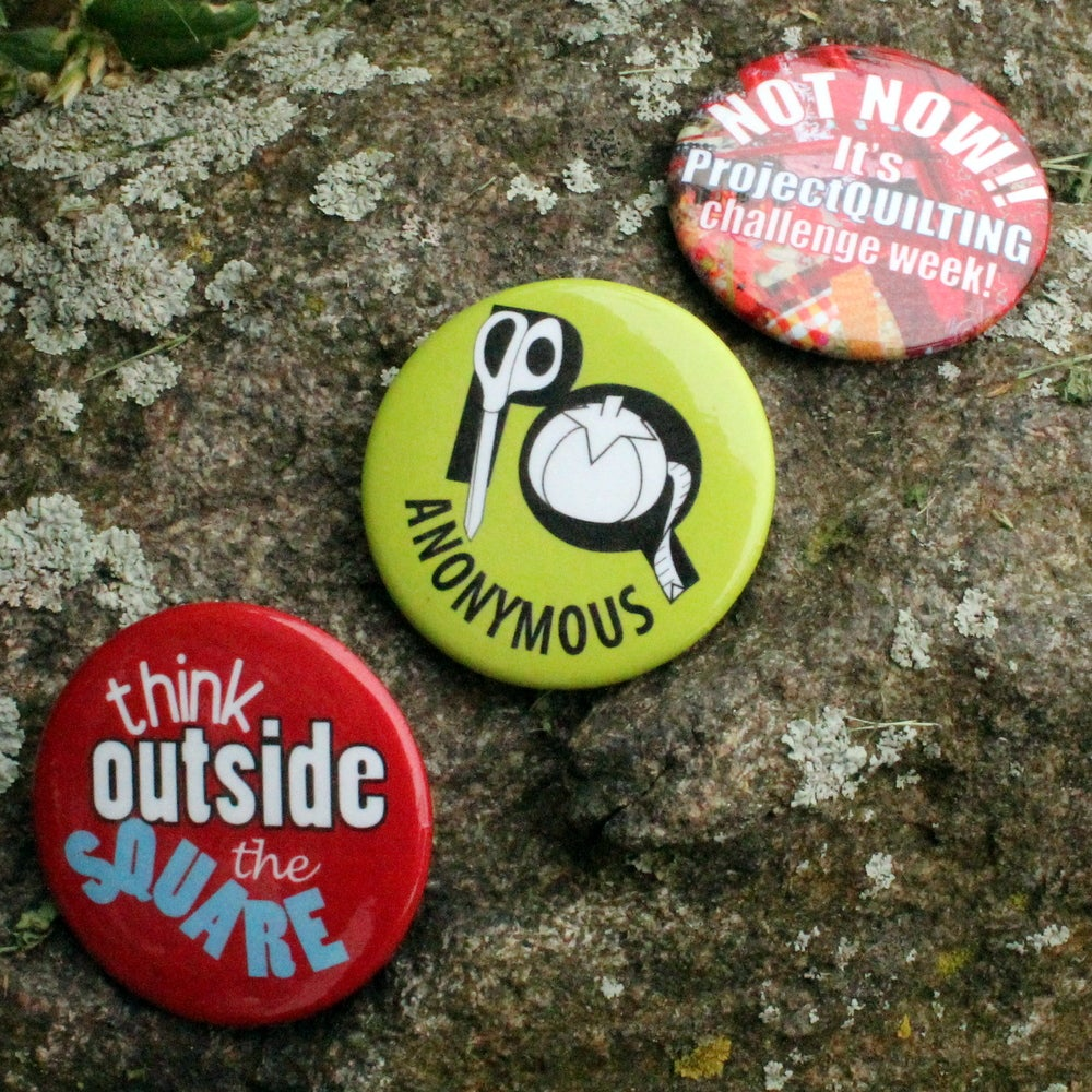Image of Project QUILTING Buttons