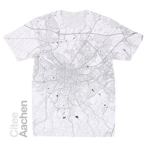 Image of Aachen map t-shirt