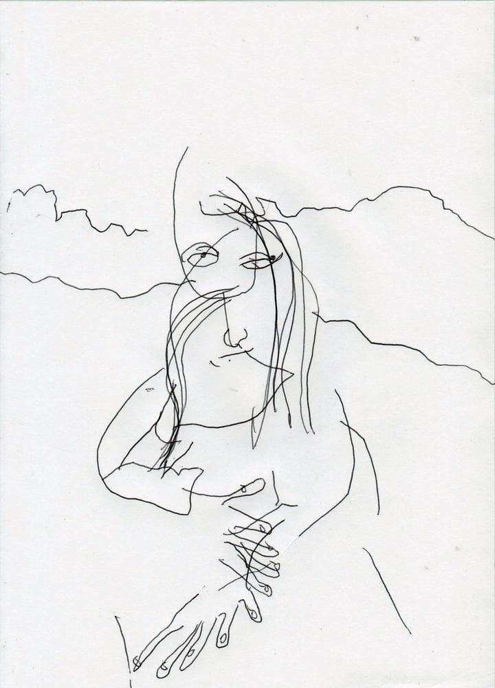 Image of The Mona Lisa (A4)