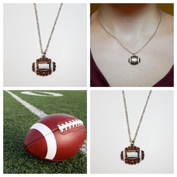 Image of Football Charm