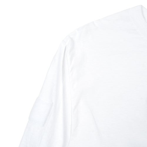 Image of SpeedQB Box Logo Longsleeve T-shirt - White