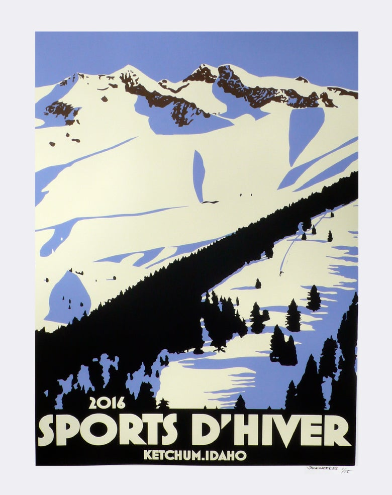 Image of Ketchum Idaho Sports D'Hiver 2016