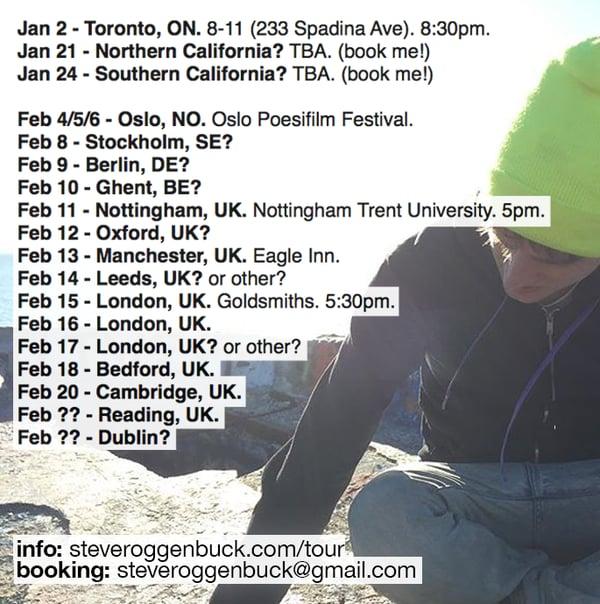 Image of Steve Roggenbuck Live 13th Feb 2016