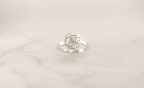 Image of 9mm Golden Saber Ring