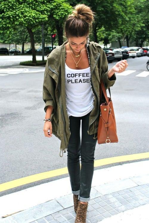 Image of COFFEE PLEASE scoopneck