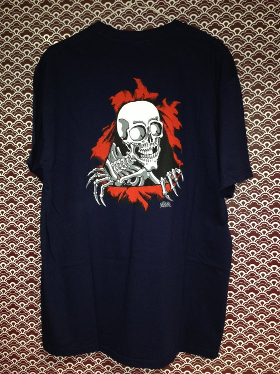 "Image of SKATE OR DIE ""BUENATINTA"" by Marone (Navy Blue)"