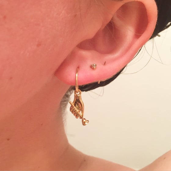 Image of Cruella Earring - Gold