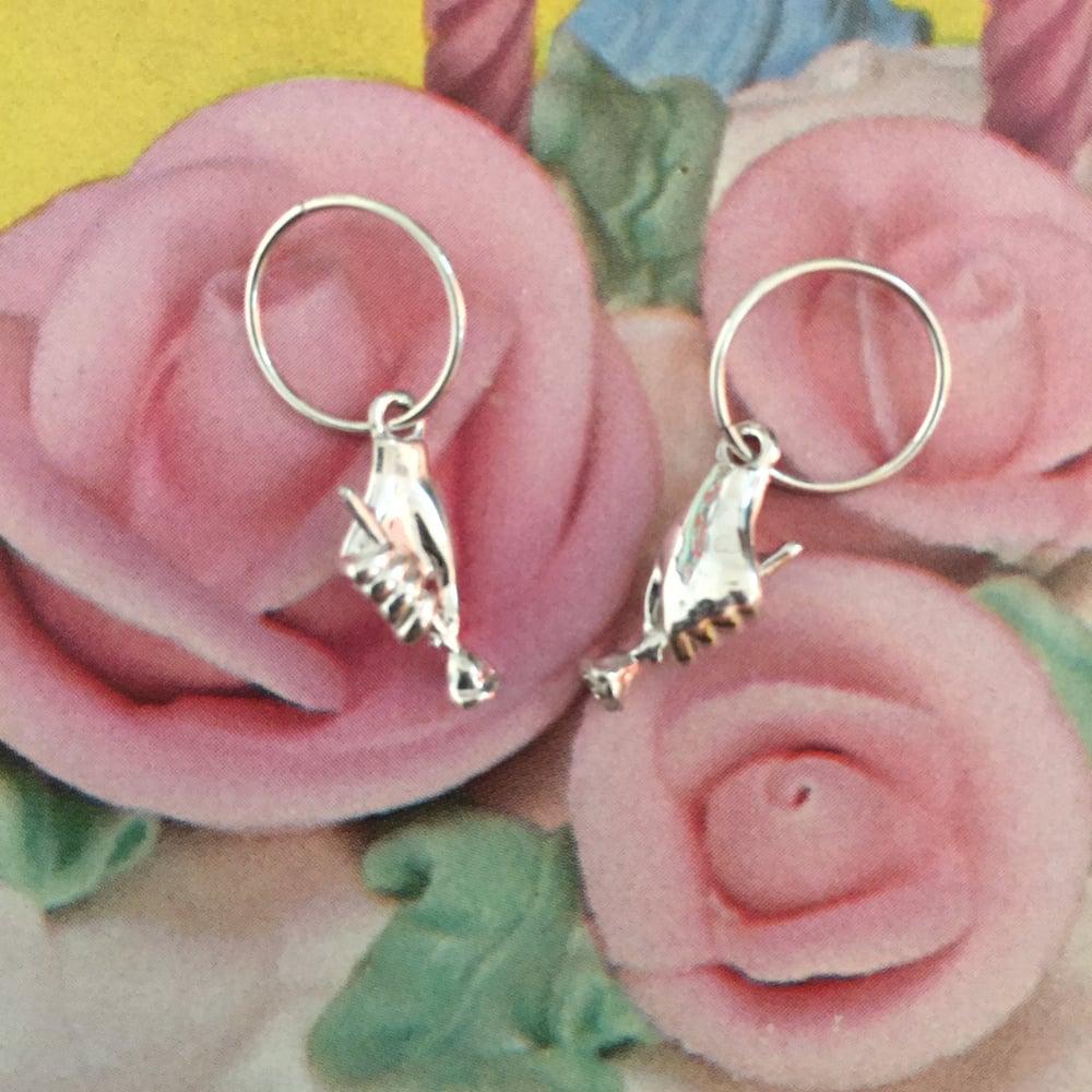 Image of Cruella Earring- Sterling Silver