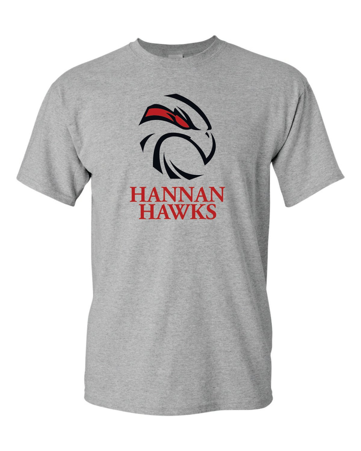 Image of Hannan Hawks Grey Tee