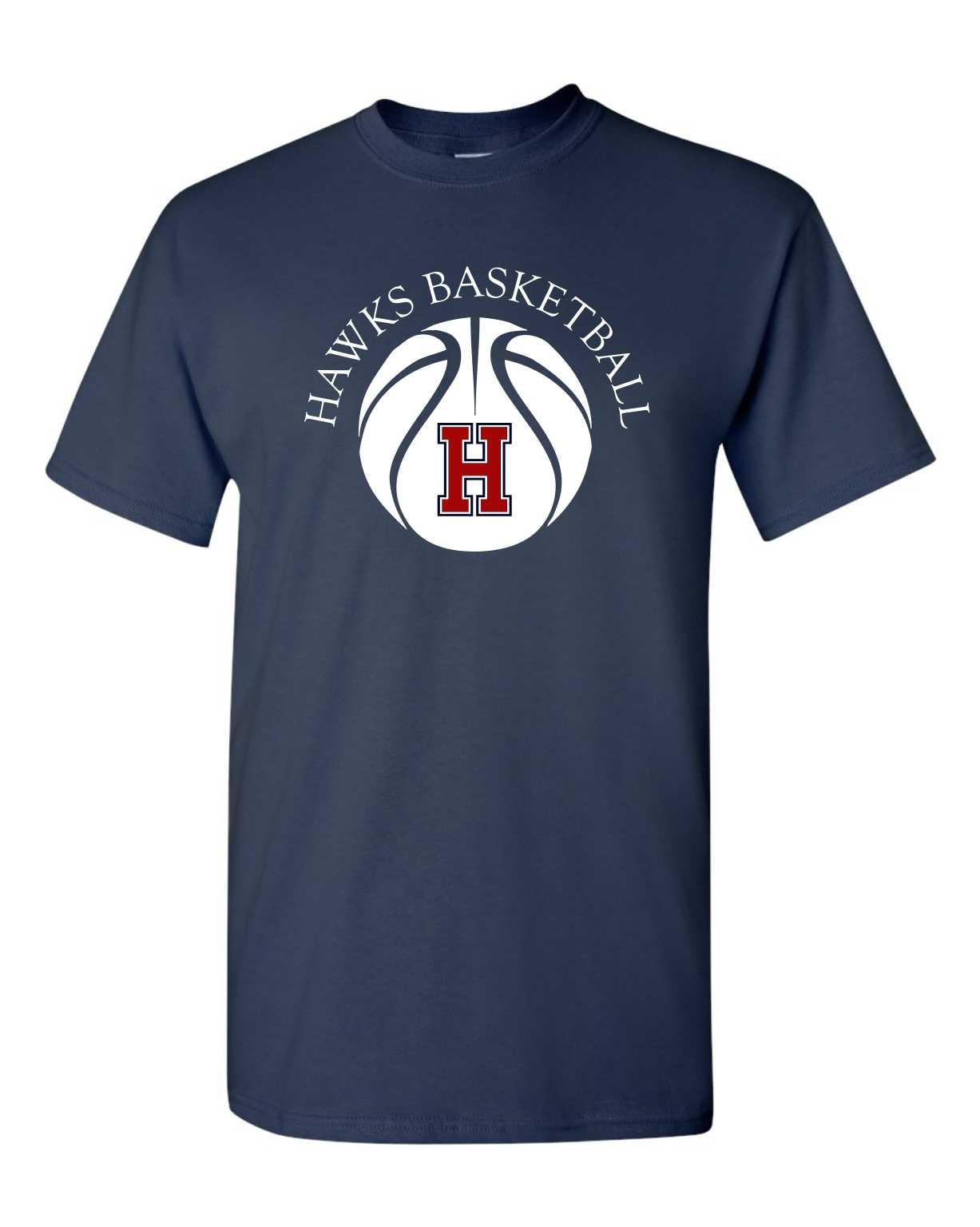 Image of H Basketball Tee